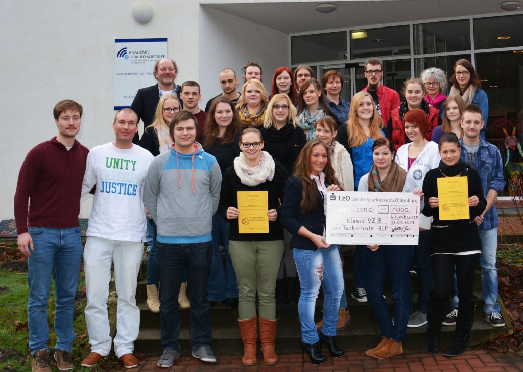 Am 14. Januar haben wir die Gewinnerinnen und Gewinner des Kreativpreises in Wildeshausen besucht und das Preisgeld überreicht.
